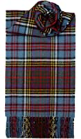 100% Lambswool Anderson Clan Scarf & Gift Wrap - Made in Scotland by Lochcarron
