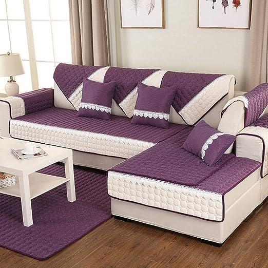 DYR Funda de sofá seccional, tapicería de algodón Cojín ...