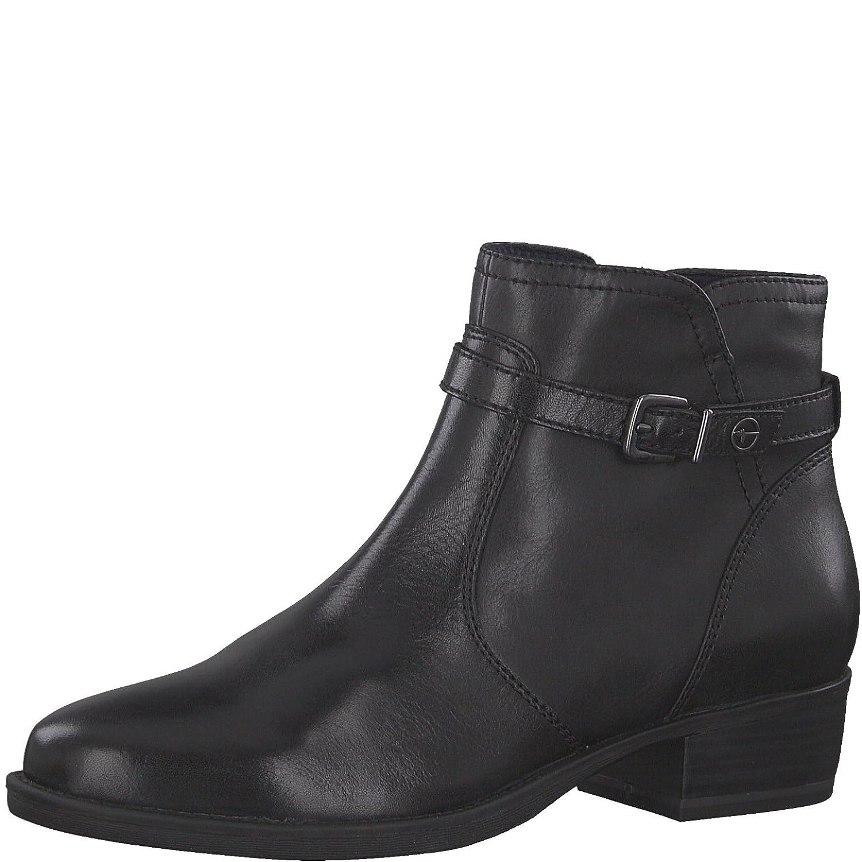 Tamaris Damen Stiefelette 25364-21,Frauen Stiefel,Stiefel,Halbstiefel,Damenstiefelette,Stiefelie,Reißverschluss,Blockabsatz 3.5cm  | Ausgezeichnete Leistung