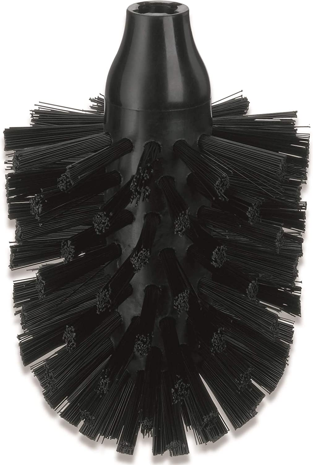 Black Kela Replacement Toilet Brush Head La Brosse Collection