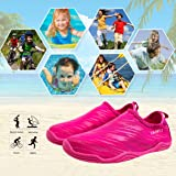 AMAWEI Quick Dry Water Shoes for Boys Girls Kids