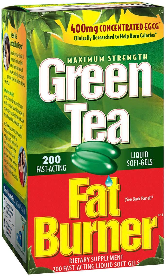 Applied Nutrition Green Tea Fat Burner 2-Pack: Health & Personal Care