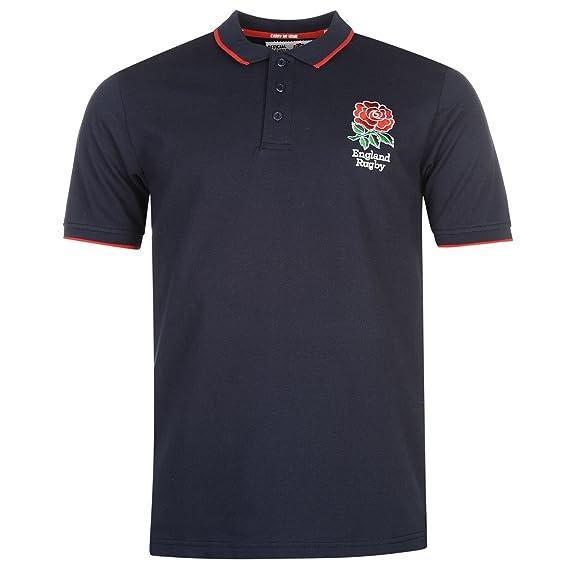 RFU Hombre England Rugby Core Polo Camisa Camiseta Ropa Deporte Running Entrenar: Amazon.es: Ropa y accesorios