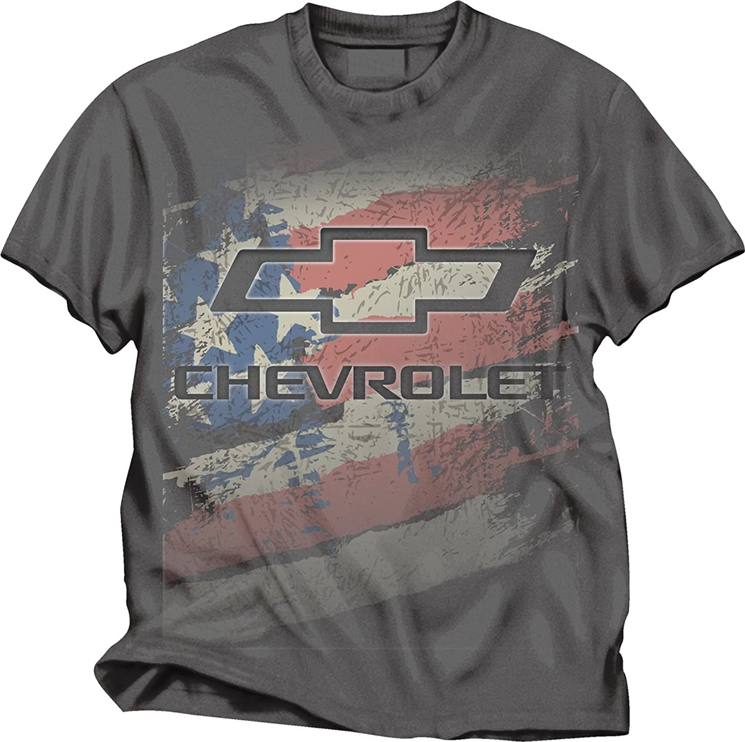 Hot Chevy Logo American Flag T-Shirt supplier