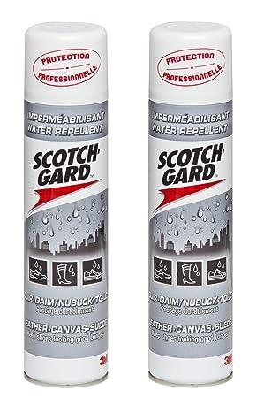 Scotchgard Aérosol Cuir-Daim Nubuck -Toile 400 ml - Lot de 2  Amazon ... c80d85faa1c1