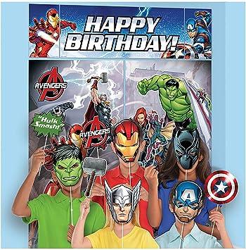 Amazon.com: 5 pieza Vengadores superhéroe Épico Fiesta de ...