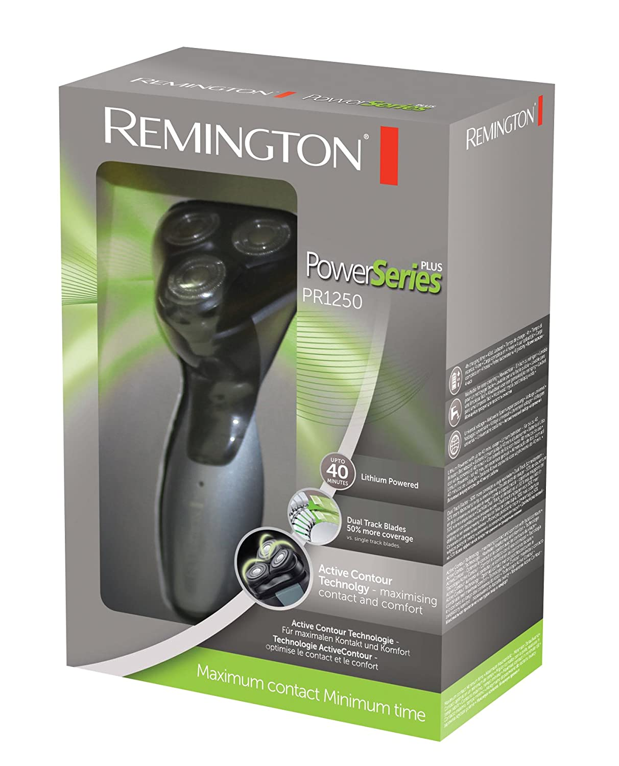 Amazon.com: Remington Power Series afeitadora giratoria: Beauty