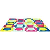 Skip Hop Interlocking Foam Floor Tiles Playspot, Multi-Mix