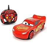 "Dickie Toys 203086005 - ""Cars 3 Ultimate Lightning McQueen"", RC Fahrzeug, ferngesteuertes Auto mit vielen Funktionen, 1:16, 26cm"