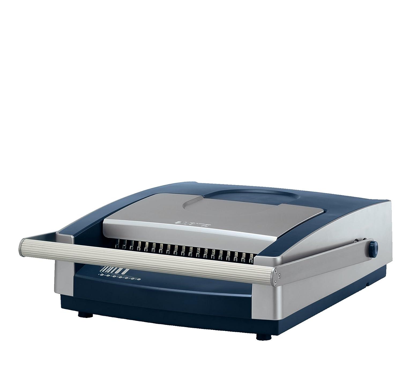 Heftstreifen für 500 blatt  Leitz 73020000 Spiralbindegerät comBIND 500, bis 25 Blatt, silber ...