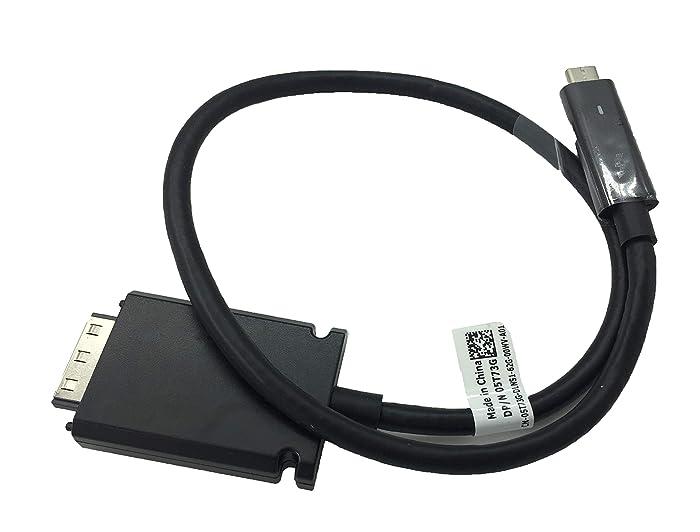 Thunderbolt USB-C Cable for Dell Thunderbolt TB15 K16A Dock Compatible 5T73G 3V37X, NOT fit WD15 K17 K17A Series