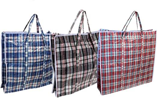 Acan Pack de 50 Bolsas de Rafia 45 x 40 x 20 cm Prox Color Surtido ...