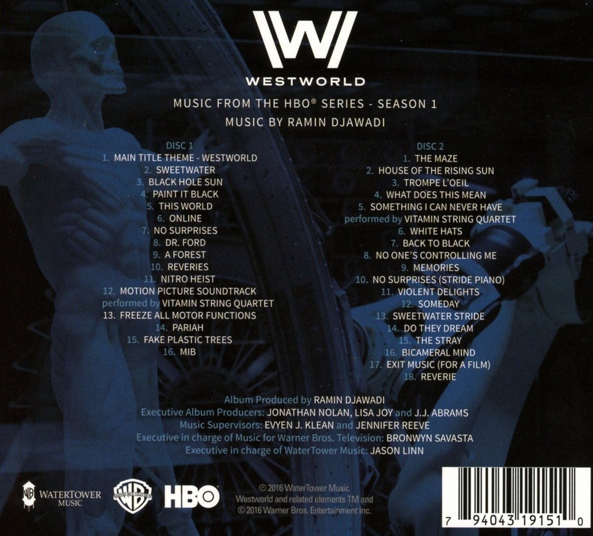 westworld season 1 music from the hbo series o s t amazon co uk music