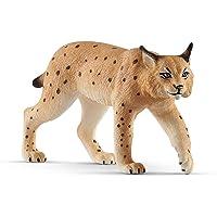 Schleich- Figura de Lince, Colección Wild Life, 9.20