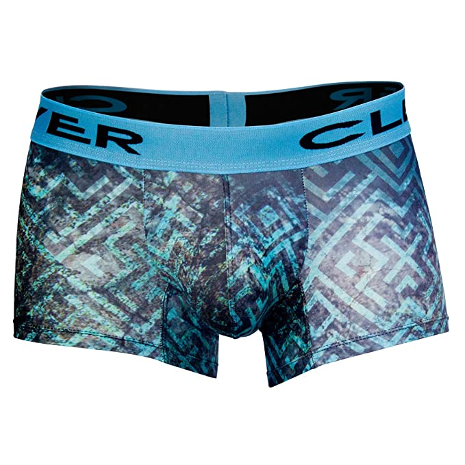 Clever Moda Boxer Short Labyrinth Ropa Interior para Hombres, Ta. G