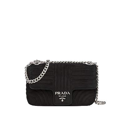 605c8c6cc8d348 Your-Prada Diagramme suede bag shoulder bags handbags wallets top-handle  bags (Black