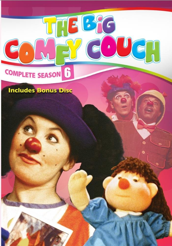 The Big Comfy Couch - The Complete Sixth Season - 2 DVD Set with Bonus Disc (Amazon.com Exclusive)