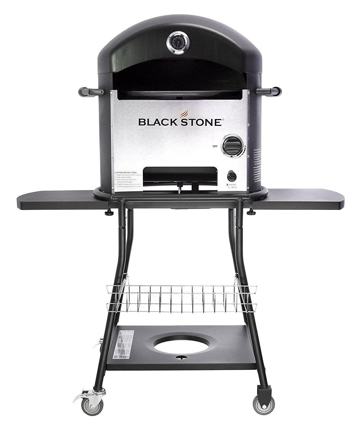 Good Amazon.com : Blackstone Outdoor Pizza Oven For Outdoor Cooking   Electric  Ignition   2x Faster Than Other Pizza Ovens : Outdoor Kitchen Ovens :  Garden U0026 ...