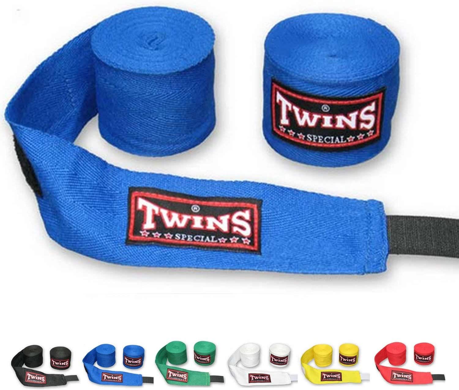 Twins Special CH-2 Bandages ELASTIC COTTON Martial Arts KICK BOXING HANDWRAPS