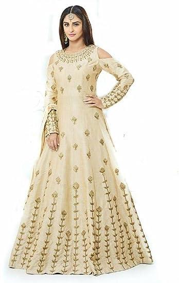 Beige Dress for Wedding
