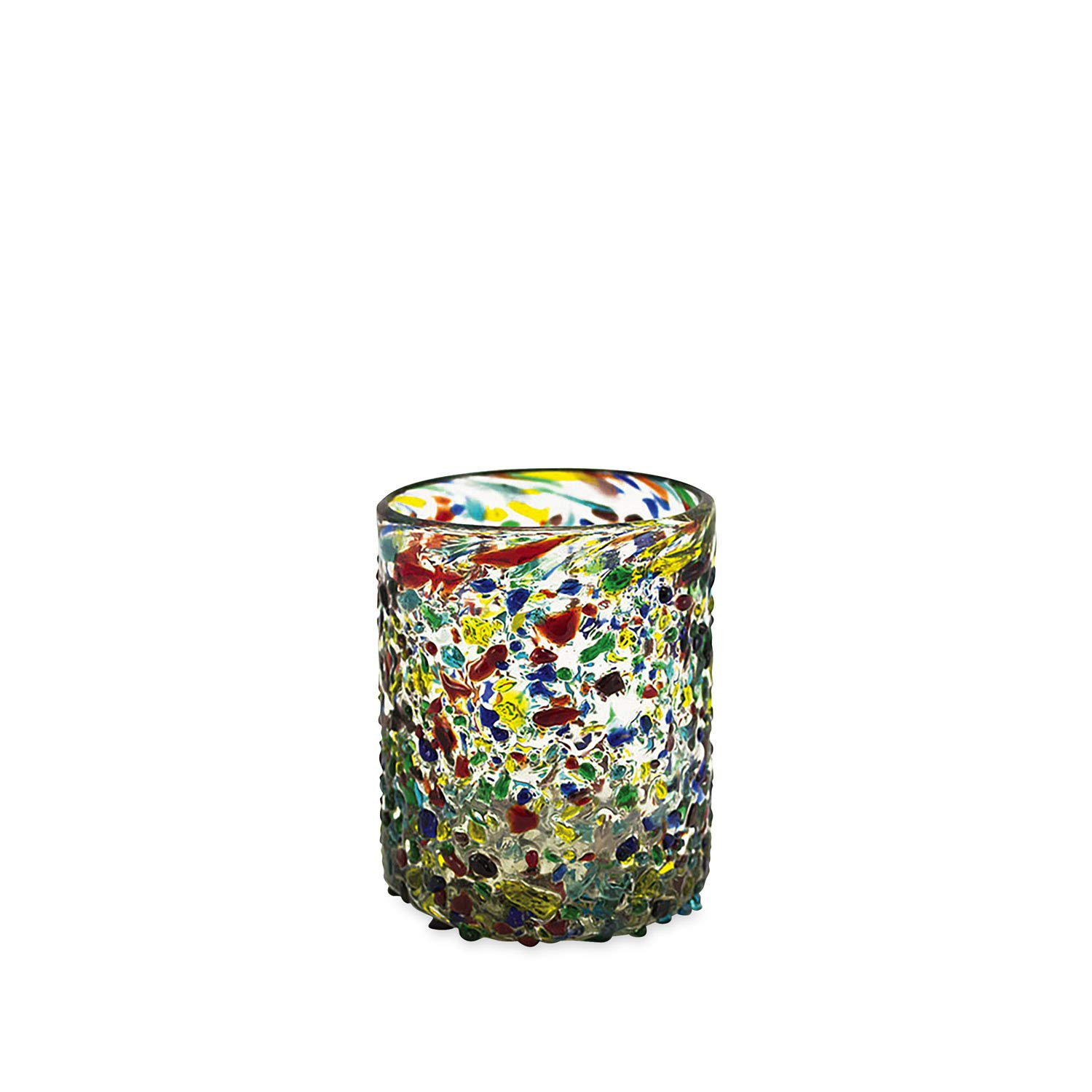 Bambeco 12 OZ Confetti Recycled Glass Tumbler - Set of 4 by bambeco (Image #1)
