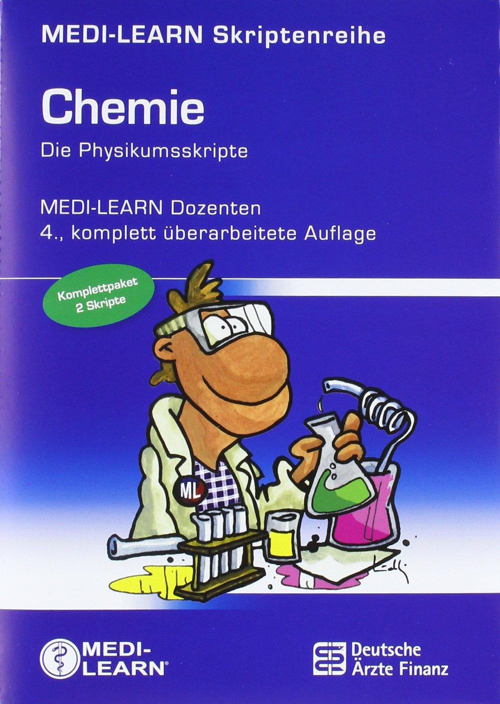 MEDI-LEARN: Chemie 1 + 2 – Die Physikumsskripte