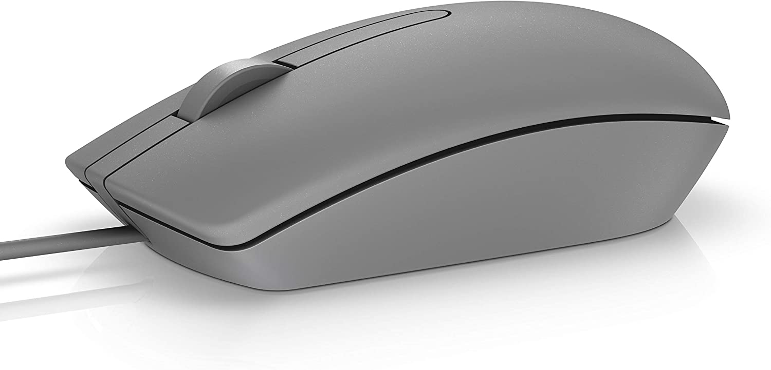 Dell MS116 USB Optical Mouse -Grey