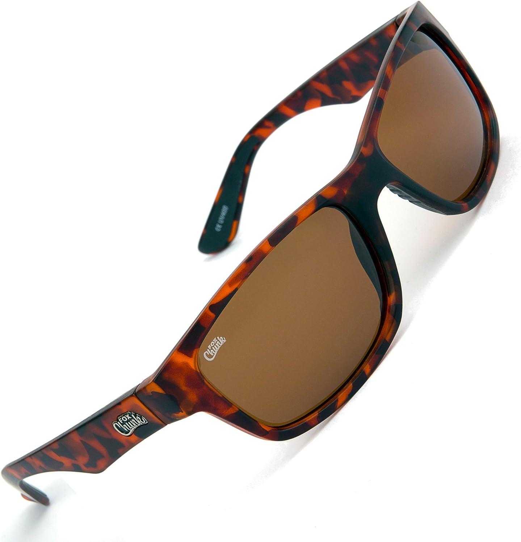 Case Fox NEW Chunk Camo Frame//Brown Polarized Impact Resistant lens Sunglasses