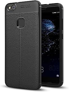 NALIA Funda Compatible con Huawei P10 Lite, Apariencia de Cuero ...