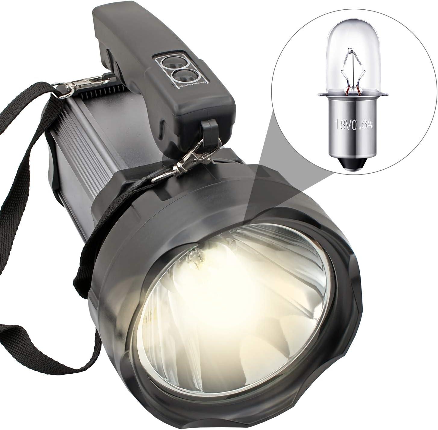 8 Packs 780287001 Flashlight Bulbs Flashlight Replacement Bulbs Compatible with Ryobi Ridgid 18V Flashlight P704 P703 P700