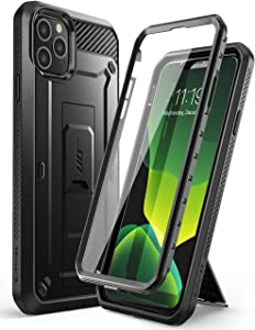 SUPCASE Unicorn Beetle Pro Series Case Designed for iPhone 11 Pro 5.8 Inch 2019, Built-In Screen Protector Full-Body Rugged Holster Case (Black)