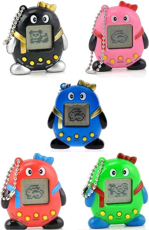 Tamagotchi - Mini máquina de juegos electrónica para niños: Amazon.es: Hogar