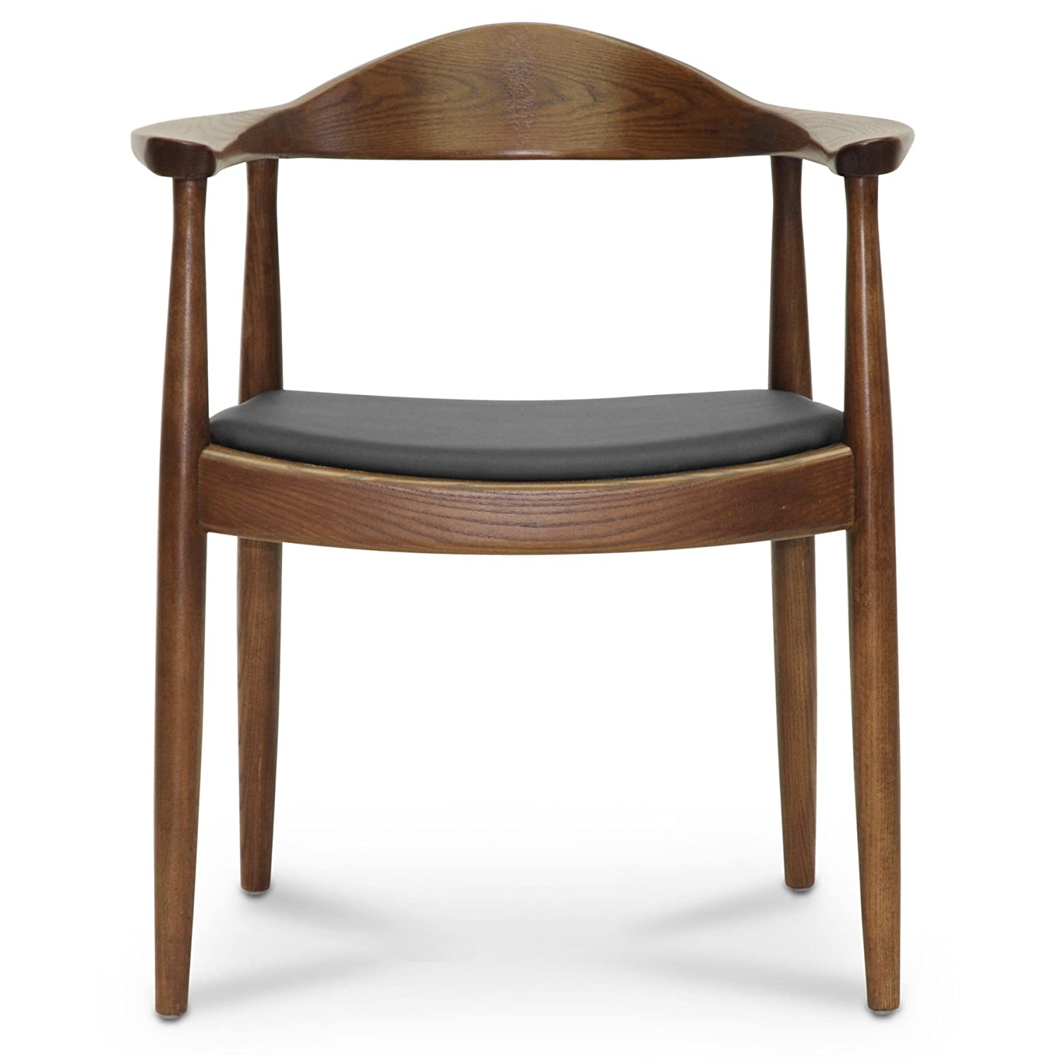 Amazon.com - Baxton Studio Embick Mid-Century Modern Dining Chair ...