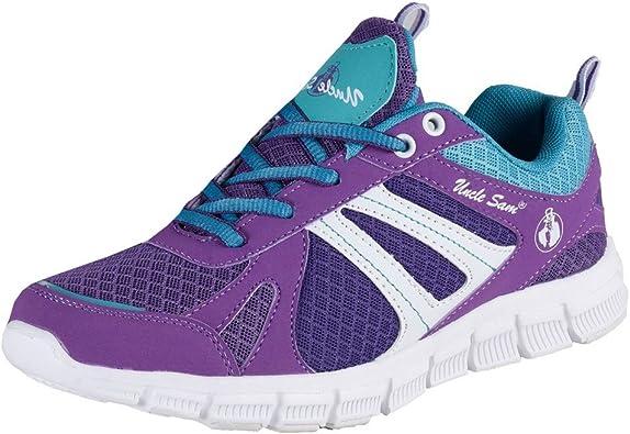 Uncle Sam – Zapatillas de Running de Textil Transpirable Ligero: Amazon.es: Zapatos y complementos