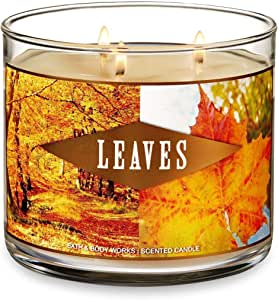 Bath & Body Works 3-Wick Scented Candle in Leaves