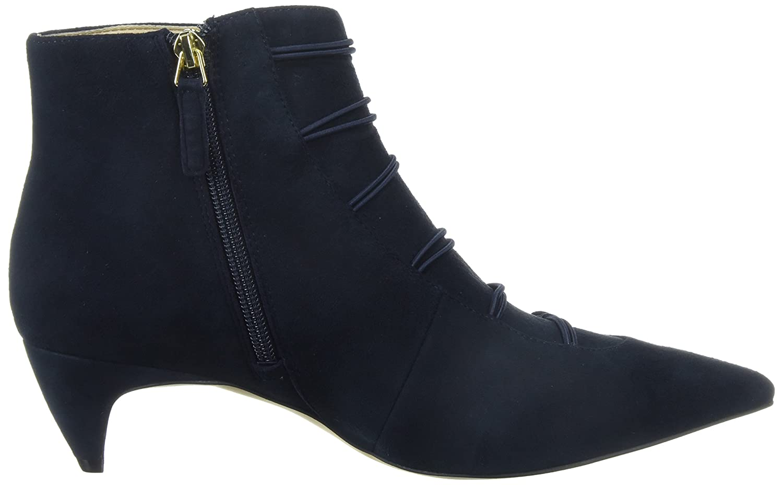 Nine West Women's B071S43WXK Zadan Suede Ankle Boot B071S43WXK Women's 6.5 B(M) US|Navy ec5064