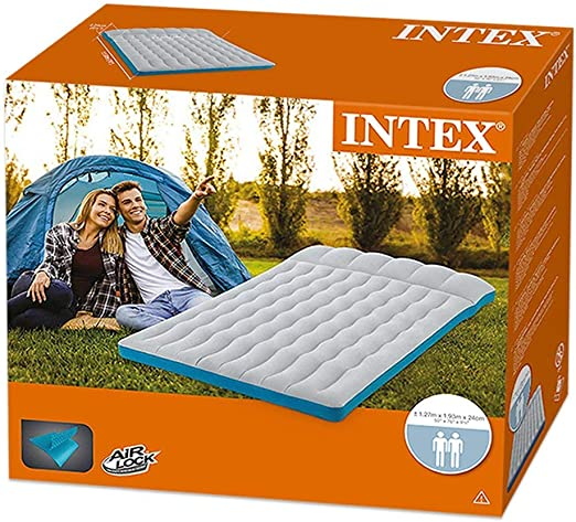 Amazon.com: Intex - Colchón hinchable para camping: Sports ...