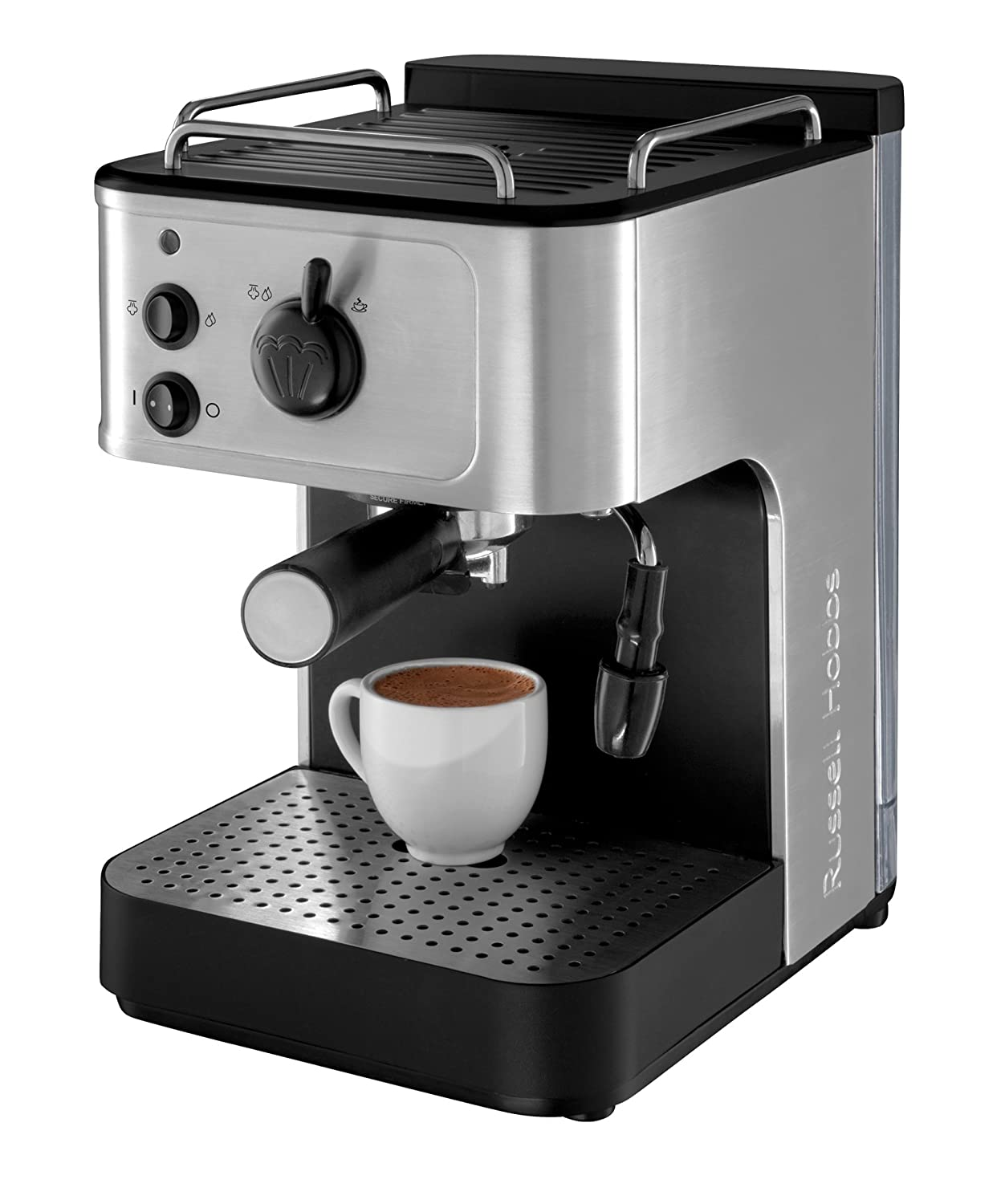 Electronic Coffee Machine Home russell hobbs 18623 espresso coffee maker amazon co uk kitchen home