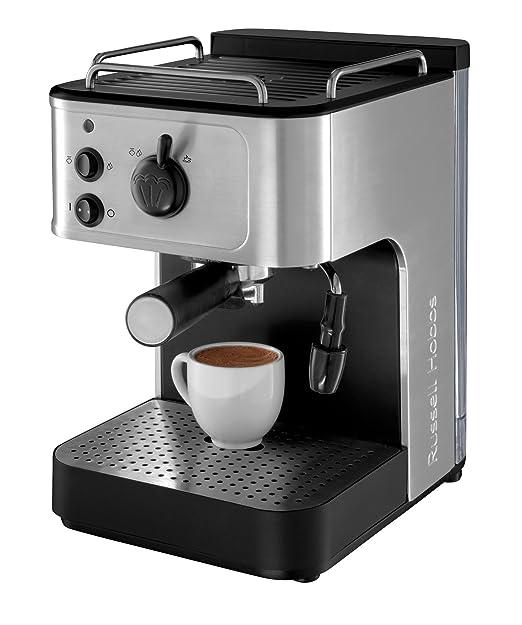 Russell Hobbs 18623-56 Buckingham - Cafetera de espresso, con ...