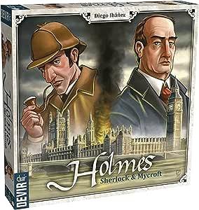 Devir Americas Holmes Sherlock & Mycroft Board Games