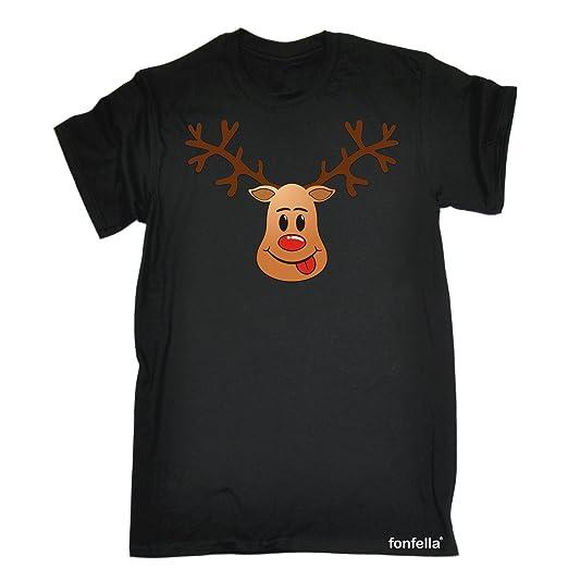 a4273c3e3 Amazon.com: KIDS - 123t Kids T-SHIRT Premium RUDOLPH DESIGN (VARIOUS  COLOURS) T SHIRT Ages 3-13: Clothing