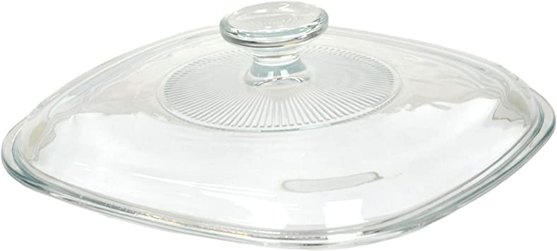 Corningware Glass Cover For 2l 3l Classic Square Casserole Amazon Co Uk Kitchen Home