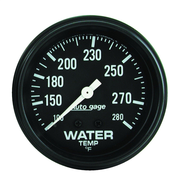 Auto Meter 2313 Autogage Mechanical Water Temperature Gauge