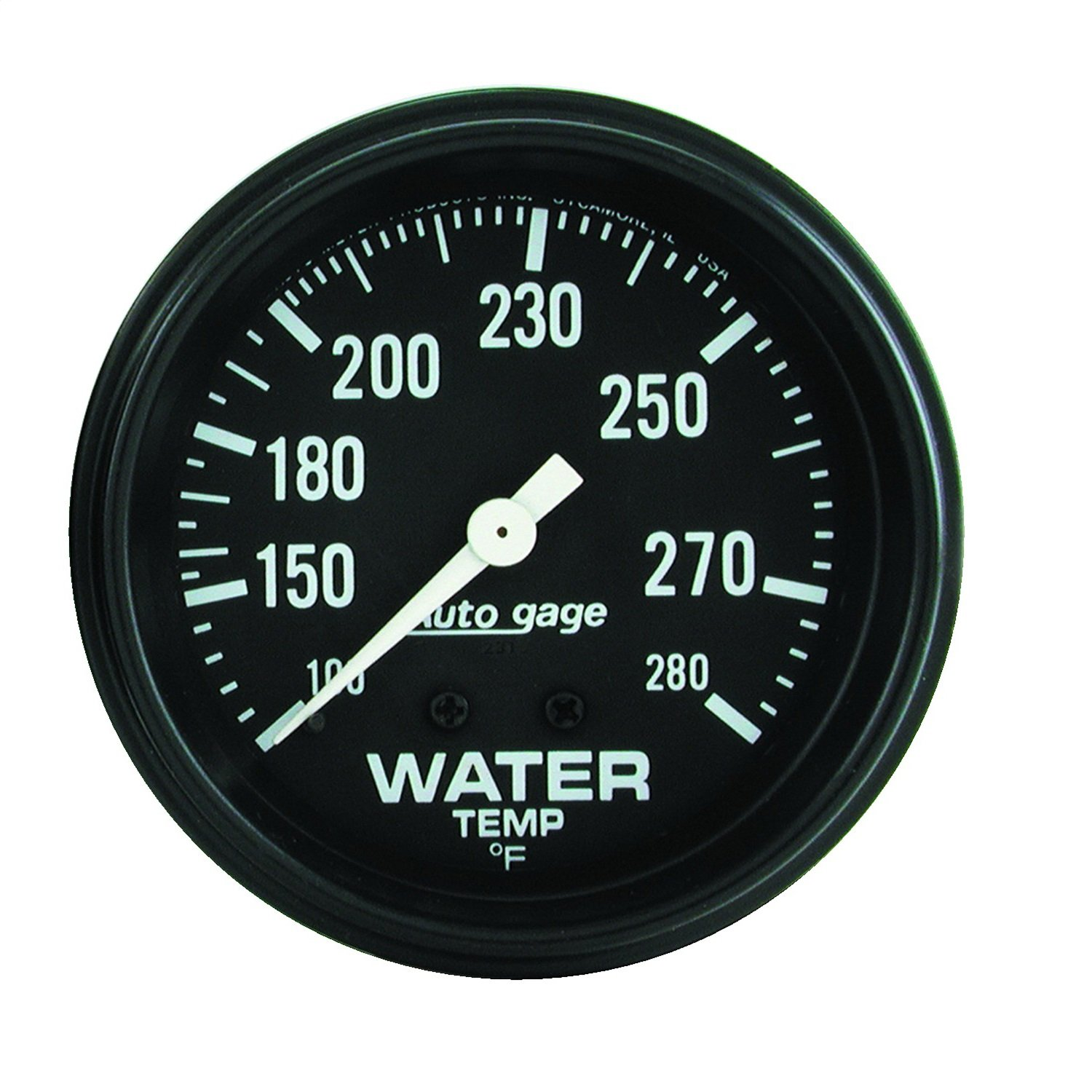 Auto Meter 2313 Autogage Water Temperature Gauge by AUTO METER