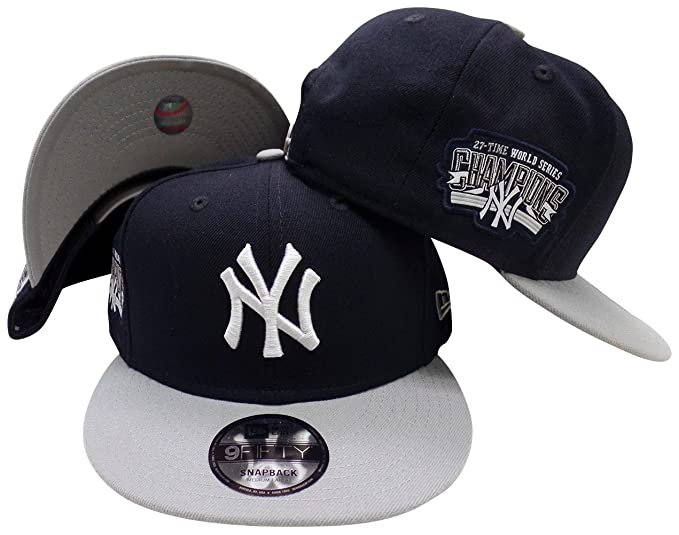 37da29fd Amazon.com: New York Yankees Victory Side 9FIFTY Adjustable Snapback ...