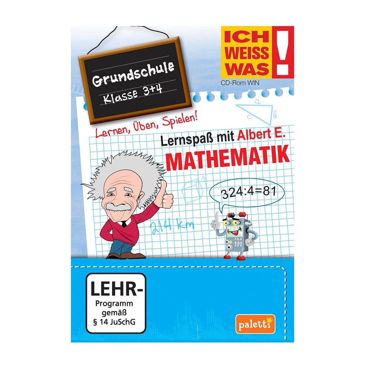 Ich weiss was!: Mathematik - Grundschule Klasse 3 + 4 - Lernspaß mit ...