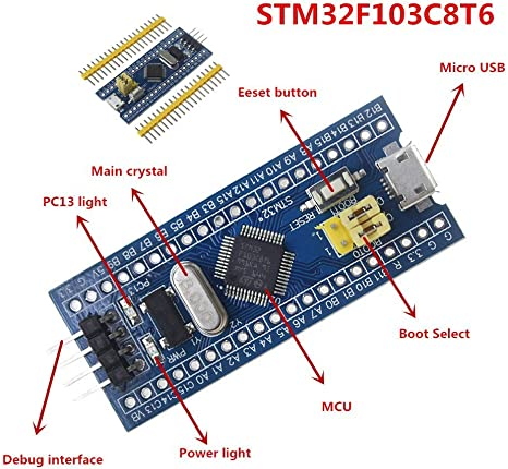 STM32F103C8T6 ARM STM32 Minimum System Module Development  Board For Kit