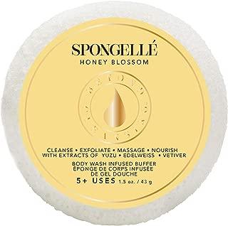 product image for Spongelle Travel Size Spongette Body Wash Infused Buffer (Honey Blossom)