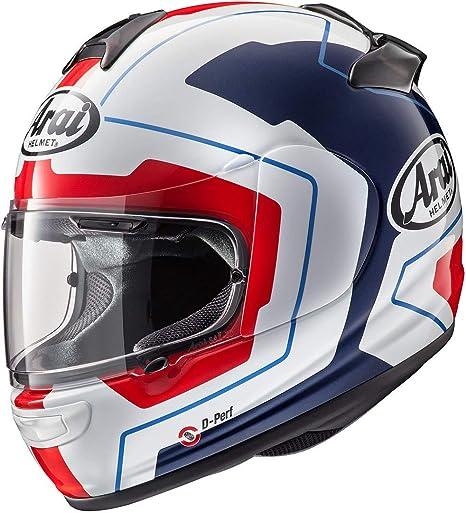 ARAI Casco de motocicleta integral Axces III 3 Sports, diseño de lÃnea azul