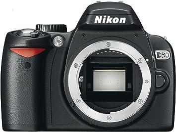 Amazon.com: Nikon D60 Cámara réflex digital (solo cuerpo ...